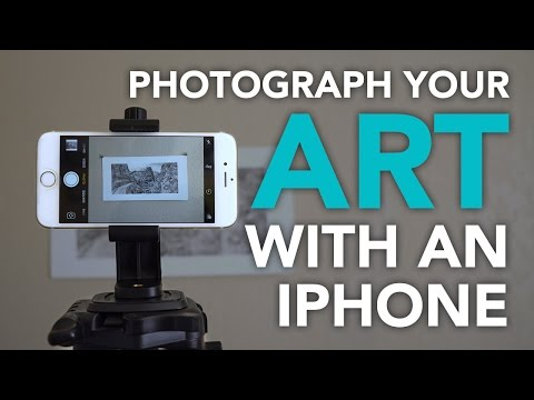 IPhone Photography: Documenting Your 2D Art On A Budget