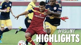 HIGHLIGHTS: Real Salt Lake vs New York Red Bulls | July 30, 2014