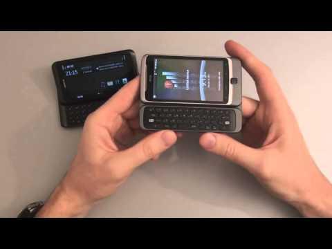 HTC Desire Z vs Nokia E72