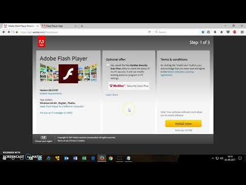 How To Install Adobe Flash Player On Windows 7/8/10 ( Vista & XP )