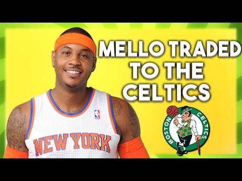 CARMELO ANTHONY TRADED TO THE CELTICS?! - NBA Trade Rumors - NBA 2K17 MyLeague