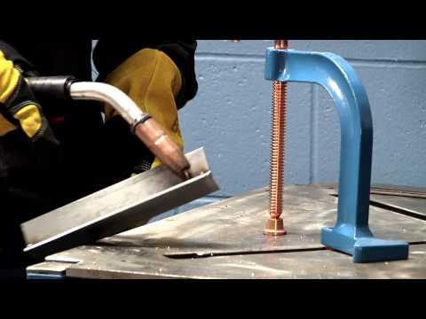Millermatic® 252 MIG welder burnback