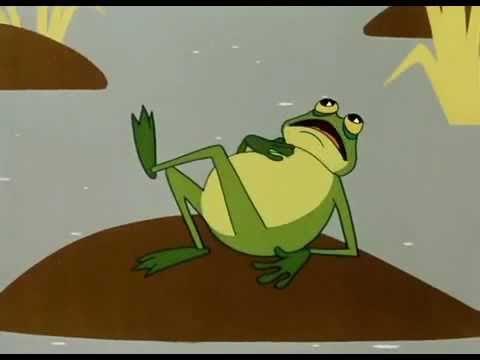 Дюймовочка мультфильм жаба