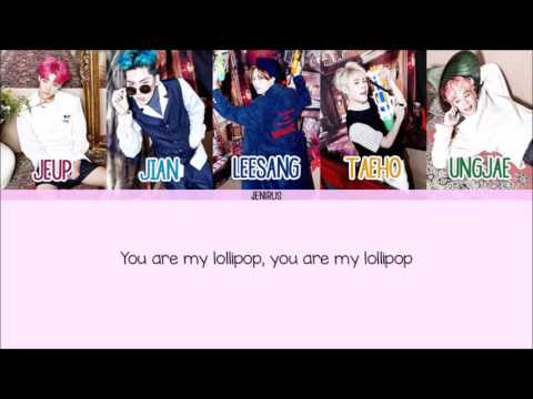 IMFACT - 롤리팝 (Lollipop) [Eng/Rom/Han] Picture + Color Coded HD