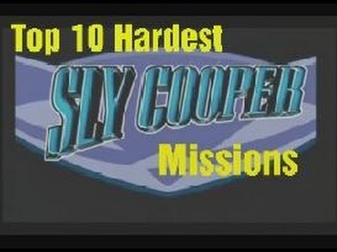 Top 10 Hardest Sly Cooper Missions