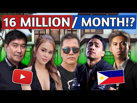 TOP 10 Pinakamayaman na YOUTUBE VLOGGER sa Pilipinas 2021  Top 10 Richest Vlogger in the Philippines