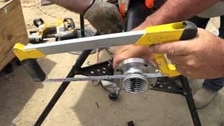 """Brugg Secon-X 2"""" pipe preparation"""