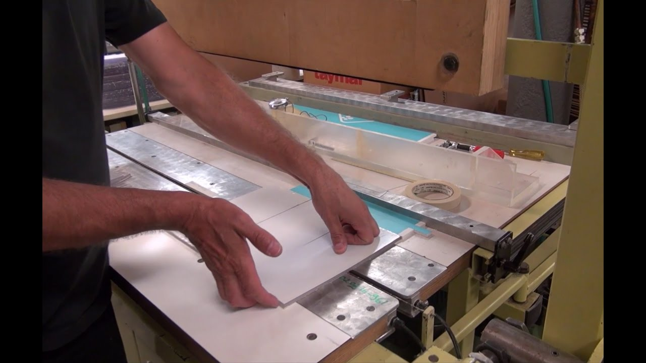 Bending Polycarbonate Sheets - YouTube