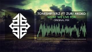 Toneshifterz ft. Zuri Akoko - What We Live For [HQ Original]