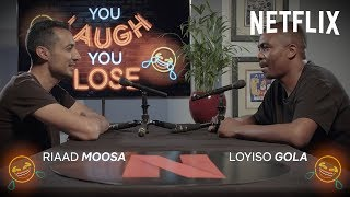 You Laugh, You Lose | Comedians of the World | Riaad Moosa & Loyiso Gola