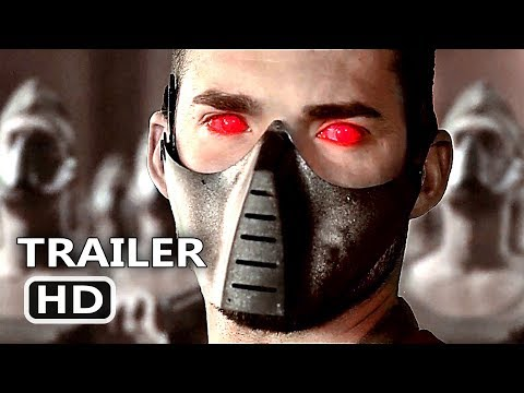 BUNKER PROJECT 12   2018 Robots Army Sci Fi Movie HD