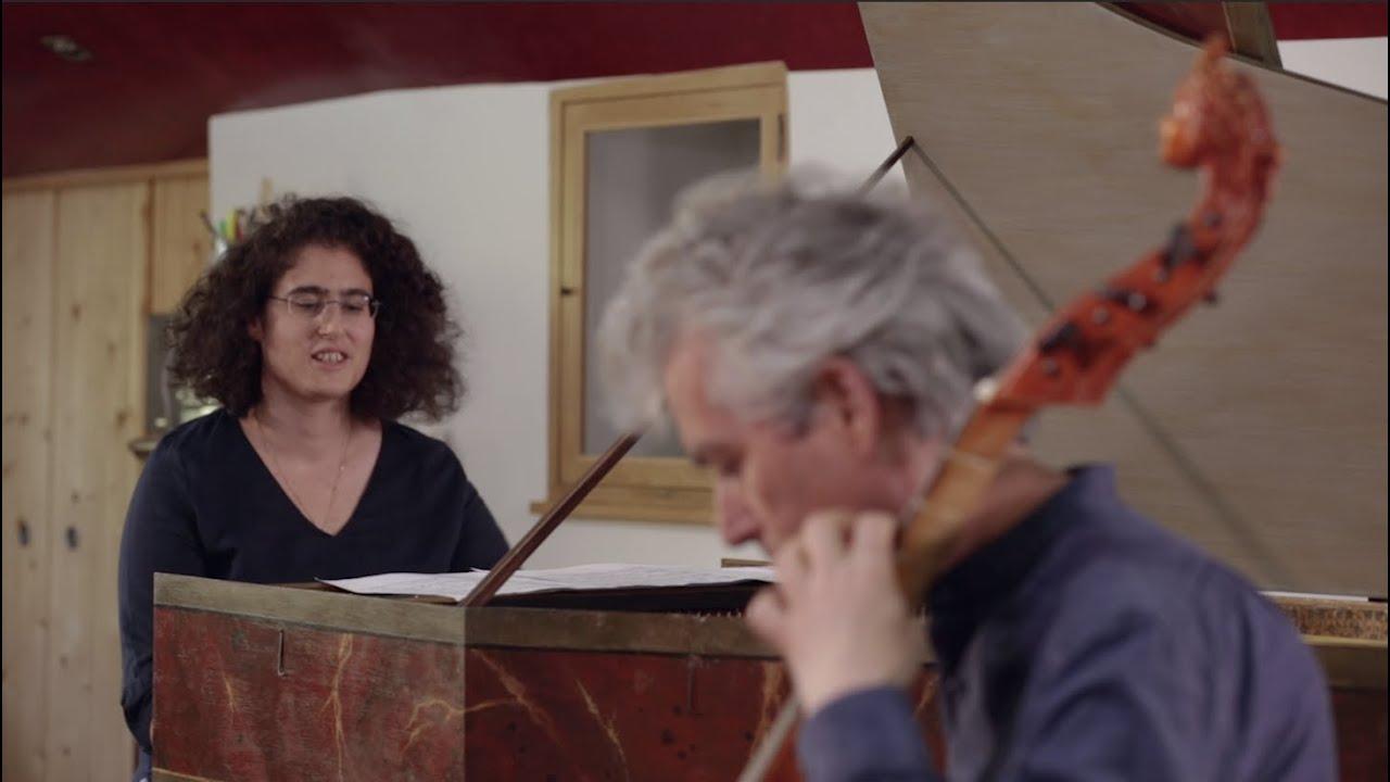 Bach   Jerome Hantaï & Lillian Gordis   Allegro BWV 1028