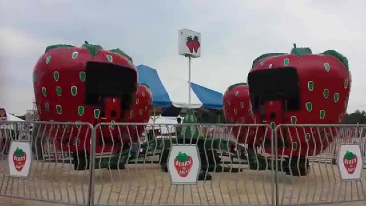 quad berry go round carnival ride rental four seasons amusements