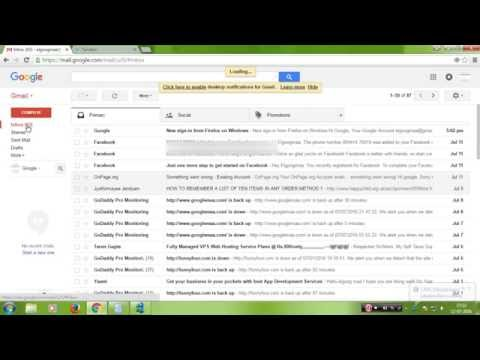 Sharing Gmail Labels Between Accounts