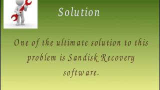 Sandisk Recovery Now Becomes Much Easier
