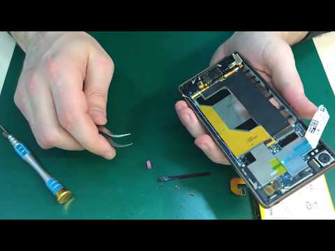 Sony Xperia Z3 - разборка и замена экрана  / Complete Disassembly And Replacement Of The Screen