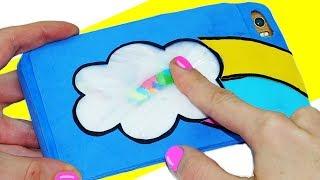 How to make phone case antistress | 3 DIY phone case