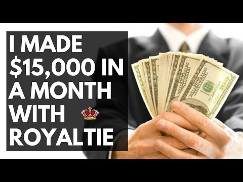 I Made $15k a Month With Royaltie Selling The Royaltie Gem