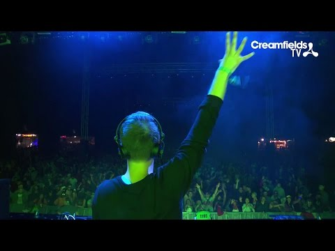 Thomas Newson Live At Creamfields, Revealed Stage