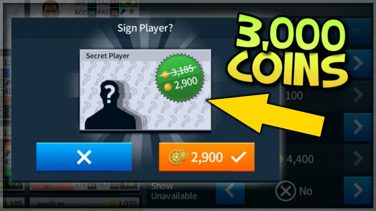 First Touch Games Gave Us A $3,000 Secret Player!!! : Dream League Soccer  2018 Gameplay