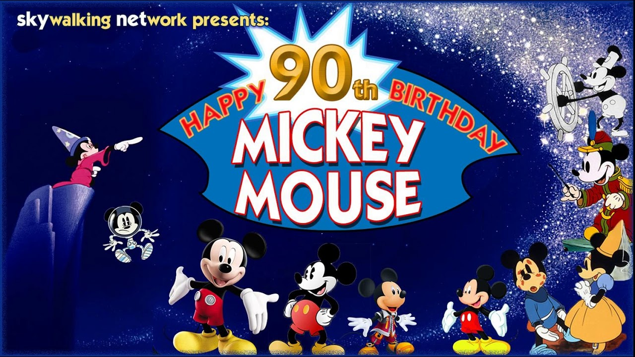 229 Happy 90th Birthday Mickey Mouse
