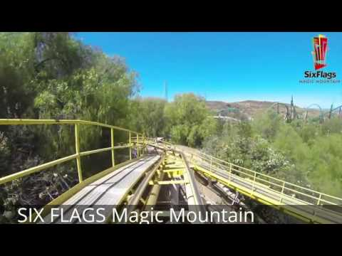 TOP 2016 / 2017 SIX FLAGS Roller Coaster POV Compilation Onride HD