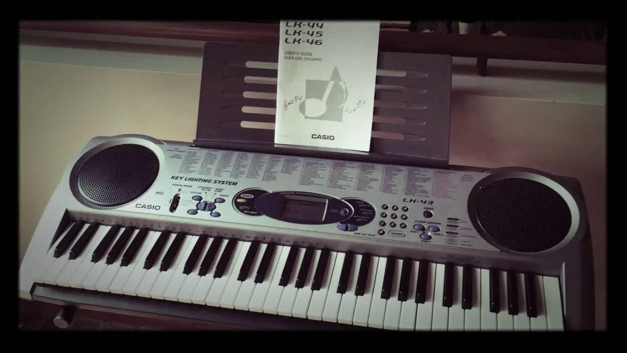 casio lk 43 electronic keyboard demo youtube rh youtube com casio lk 44 manual pdf download manual de teclado casio lk-43