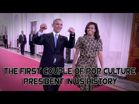 Download Youtube: How Mr  Barack Obama and Mrs  Michelle Obama become the first couple of pop culture president in his