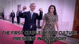 How Mr  Barack Obama and Mrs  Michelle Obama become the first couple of pop culture president in his