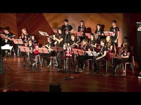 La Creativa Junior Big Band de la Escuela de Música Creativa: Inside Out