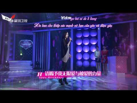 [Vietsub +Kara] Cung dưỡng ái tình - Dương Mịch - Live tại Thâm Quyến