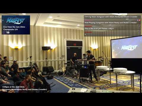 Twitch Livestream 2019-01-04 Sungazer With Adam Neely And Shawn Crowder @ MAGFest Jam Clinic