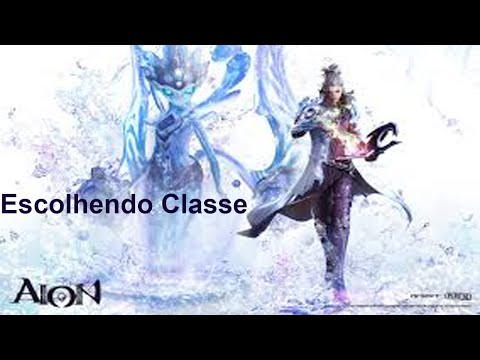 GamePlay AION PT-BR #1 Escolhendo Classe e upando