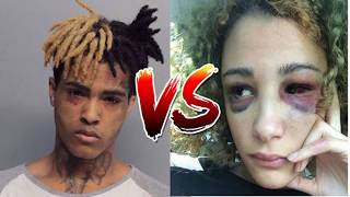 XXXTentacion Exposed As A Woman Beater By Pregnant Girlfriend.