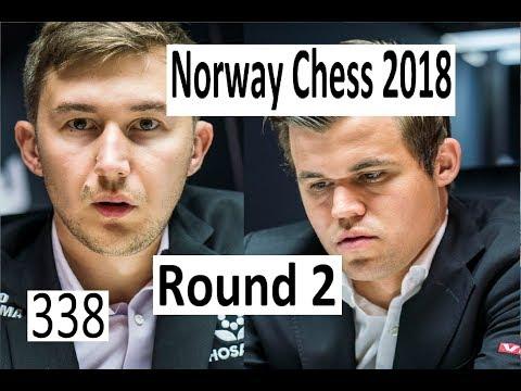 Norway Chess Round 2: Carlsen's shocking novelty!