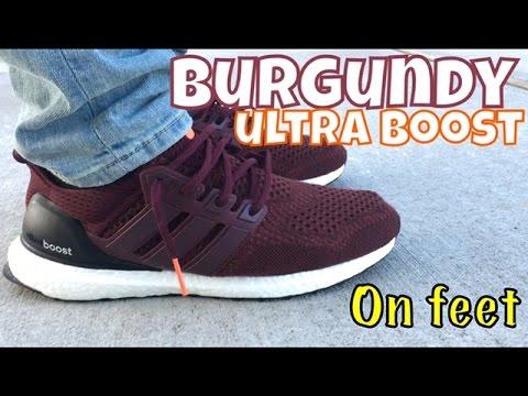 Adidas Ultra Boost 1.0 Burgundy