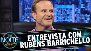The Noite (10/03/15) - Entrevista com Rubens Barrichello