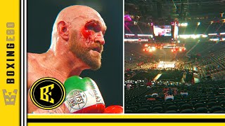 TYSON FURY SELLS 3,577 TICKETS!! SALES GO DOWN!! WALLIN FIGHT MORE TIX COMP'D THAN SOLD