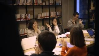 아웃백스테이크하우스 바이럴 영상 '도서관 테러'편
