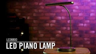 Fame PL-102 SV Piano Lamp LED