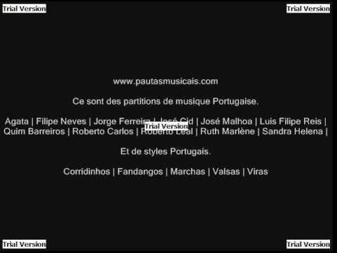 partition de musiques portugaise en pdf