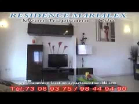 Location appartement meubl au cameroun yaound mvan youtube for Appartement meuble a yaounde cameroun