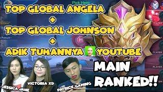 TOP GLOBAL JOHNSON + ANGELA BERSATU + JESSICA JANE - Mobile Legends: Bang Bang