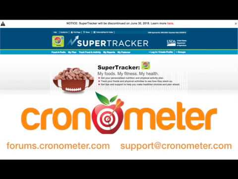 Cronometer: THE SuperTracker Alternative