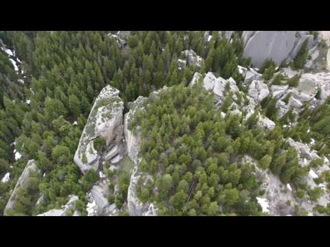 Bighorn Mountains Aerial Views