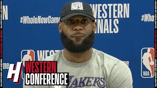 LeBron James Postgame Interview - Game 2 | Nuggets vs Lakers | September 20, 2020 NBA Playoffs