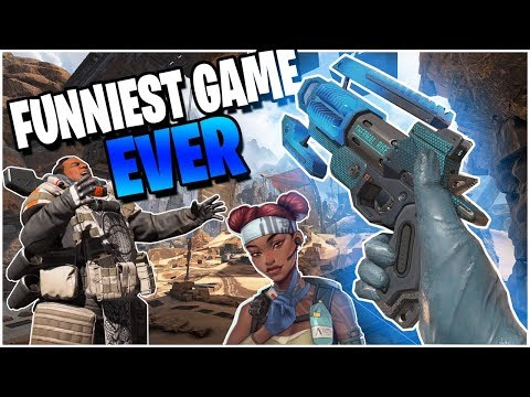 The FUNNIEST Game Of Apex Legends EVER (Apex Legends PS4)