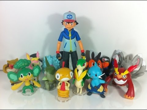 Review: Pokémon - Black & White: Figure Series 02 & 03 with Ash (JAKKS Pacific)