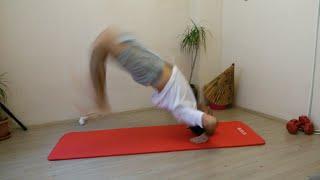 Breakdans yerden kalkma kip up nasıl yapılır - osman çakır