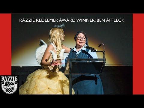 Razzie Redeemer Award Winner:  Ben Affleck